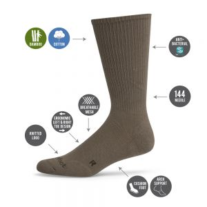 MENS WHITE BAMBOO COMFORT SOCK BY PUSSYFOOT SOCKS