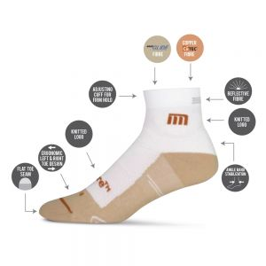 Medicore Sports Sock - White