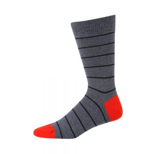 MENS DENIM STRIPE SOCK