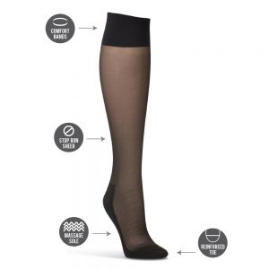 SHEER KNEE HIGH HOSIERY