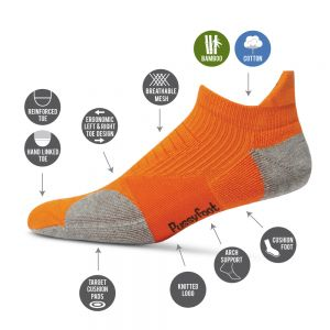MENS CROSS TRAINER ANKLE SOCK