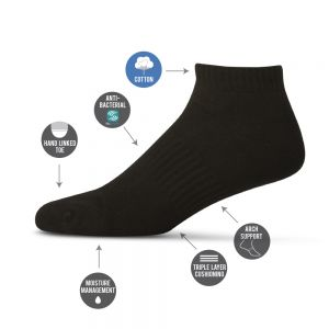 MENS TECHNO SPORTS PED SOCK