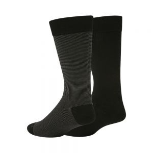MENS MODAL COTTON TWIN PK SOCKS BY PUSSYFOOT SOCKS (TMCPPA)