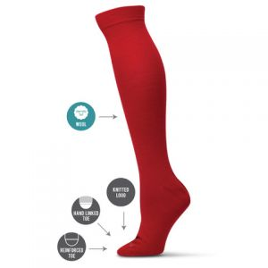 WOMENS KNEE HIGH WOOL SOCKS