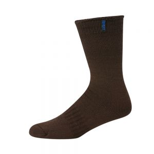 BAMBOO & MERINO WOOL ULTIMATE WORK SOCK - BROWN