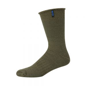 BAMBOO & MERINO WOOL ULTIMATE WORK SOCK - KHAKI