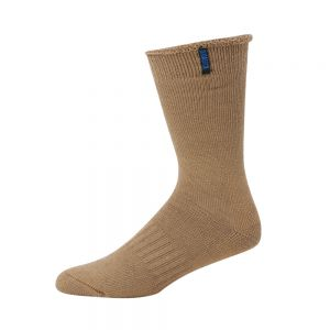 BAMBOO & MERINO WOOL ULTIMATE WORK SOCK - STONE