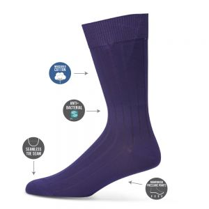 MENS CLASSIC RIB BUSINESS SOCKS