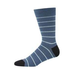 MENS BLUE STRIPE SOCK