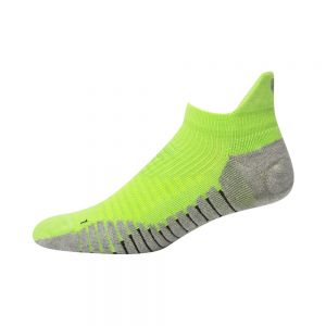 MENS CROSS TRAINER ANKLE SOCK - GREEN