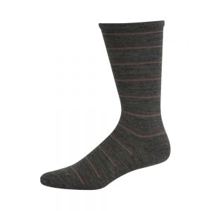 MENS WOOL NON ELASTIC STRIPE SOCKS